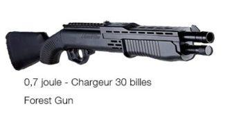 Fusil à pompe à billes 0,7 joules Forest Gun