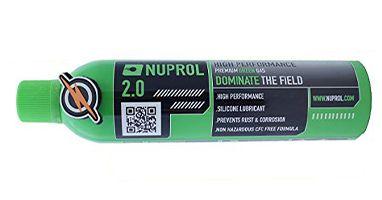 Gaz pour pistolet à bille CO2 - Nuprol - Vert - 2.0