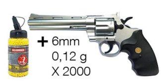 Pistolet à billes Magnum 44 Taurus G36B 6 mm 0,1 Joules