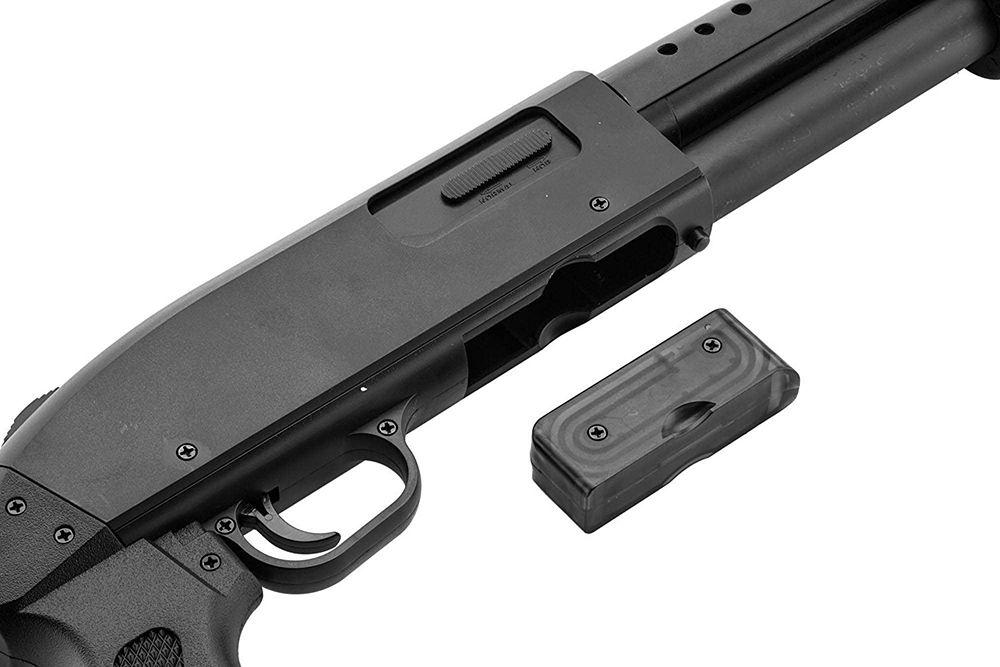 Chargeur de la réplique fusil à pompe à billes M500 Long